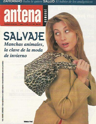 Prensa Antena 3 Semanal 1 - Mónica Pont