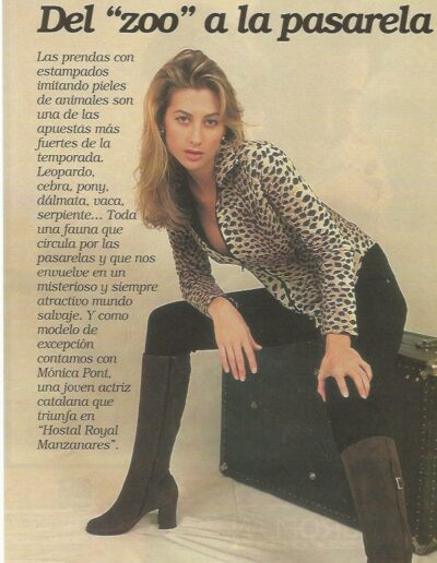 Prensa Antena 3 Semanal 4 - Mónica Pont