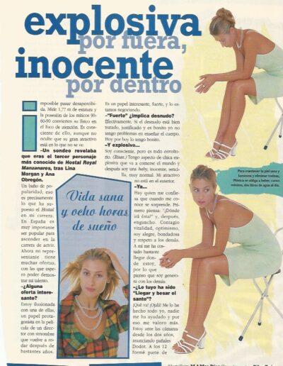 Prensa Antena 3 Semanal 7 - Mónica Pont