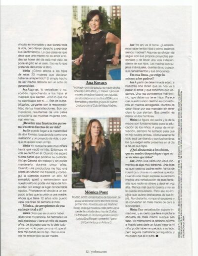 Prensa dona 100 - Mónica Pont
