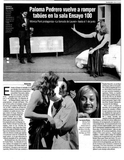 Prensa el punto 003 - Mónica Pont