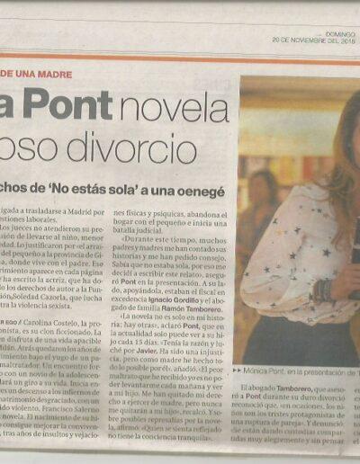 Prensa elperiodico 099 - Mónica Pont