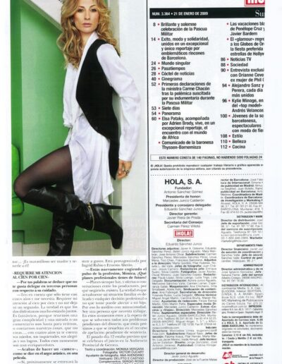 Prensa hola 060 - Mónica Pont