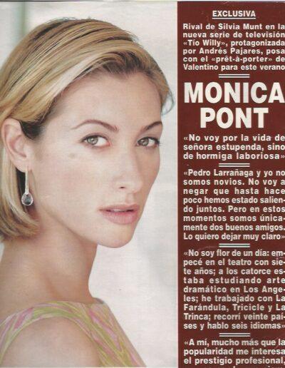 Prensa hola 100 - Mónica Pont