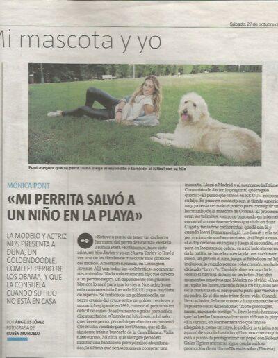 Prensa larazon 01 - Mónica Pont