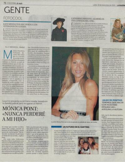 Prensa larazon 02 - Mónica Pont