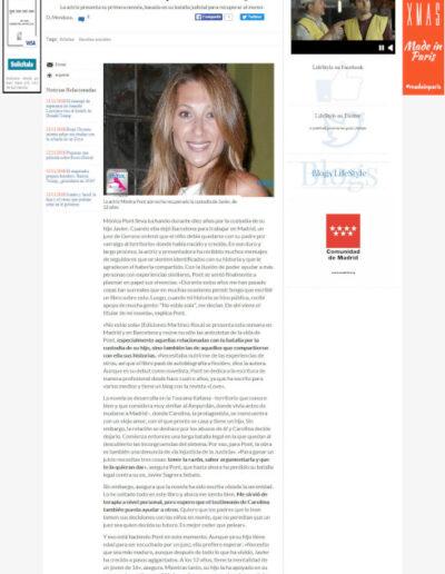 Prensa larazon 03 - Mónica Pont