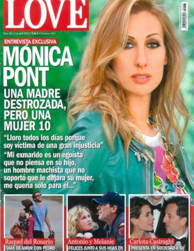 Prensa love 087 - Mónica Pont