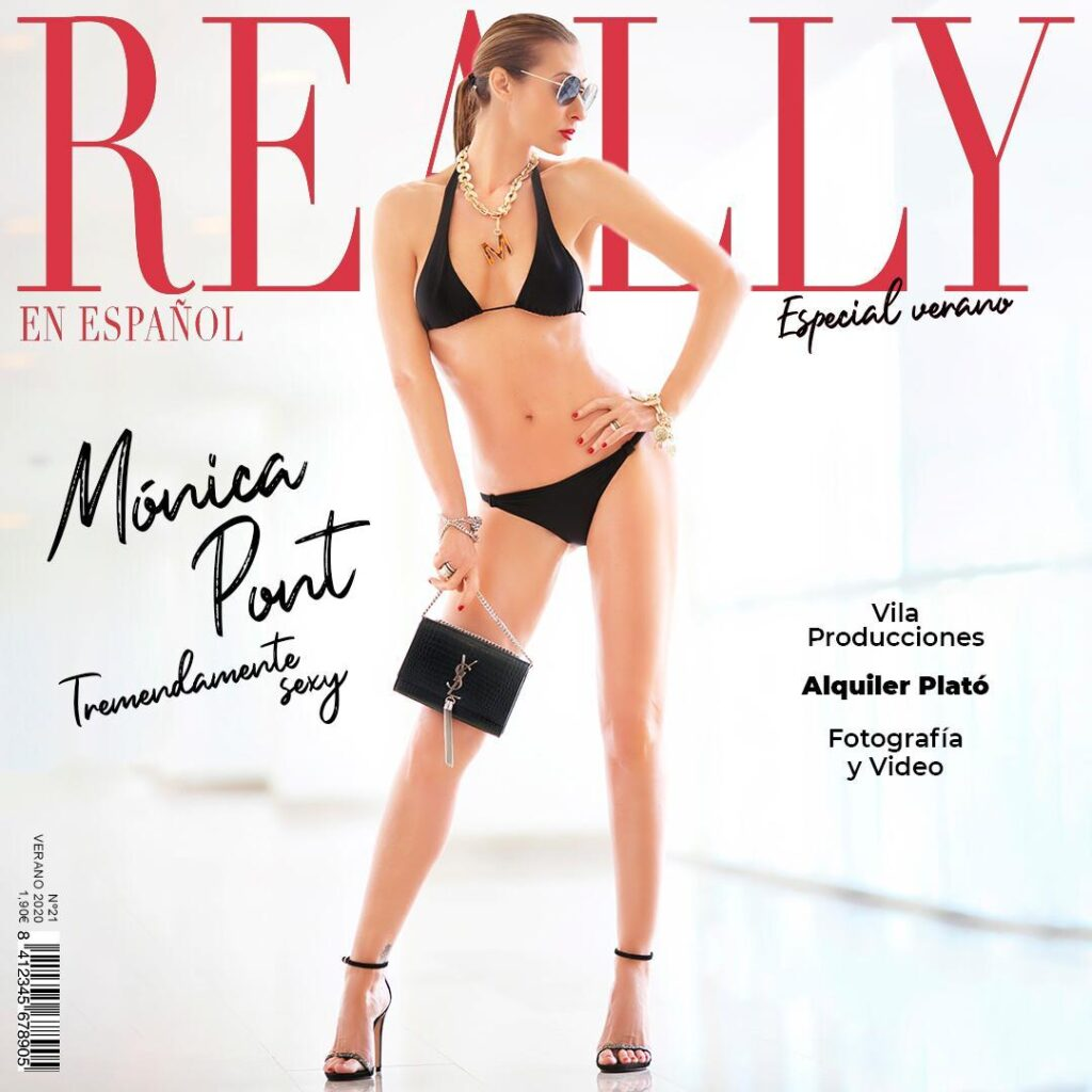 portada revista really monica pont