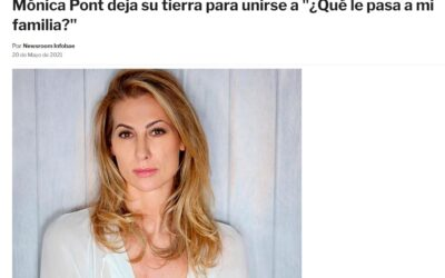 """Monica leaves Spain to join the series """"¿Qué le pasa a mi familia?"""""""