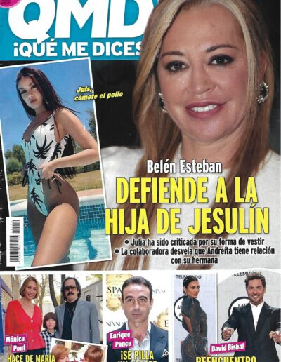 Prensa QMD - Mónica Pont portada